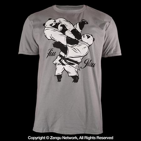 Inverted Gear Armbar Panda Tee